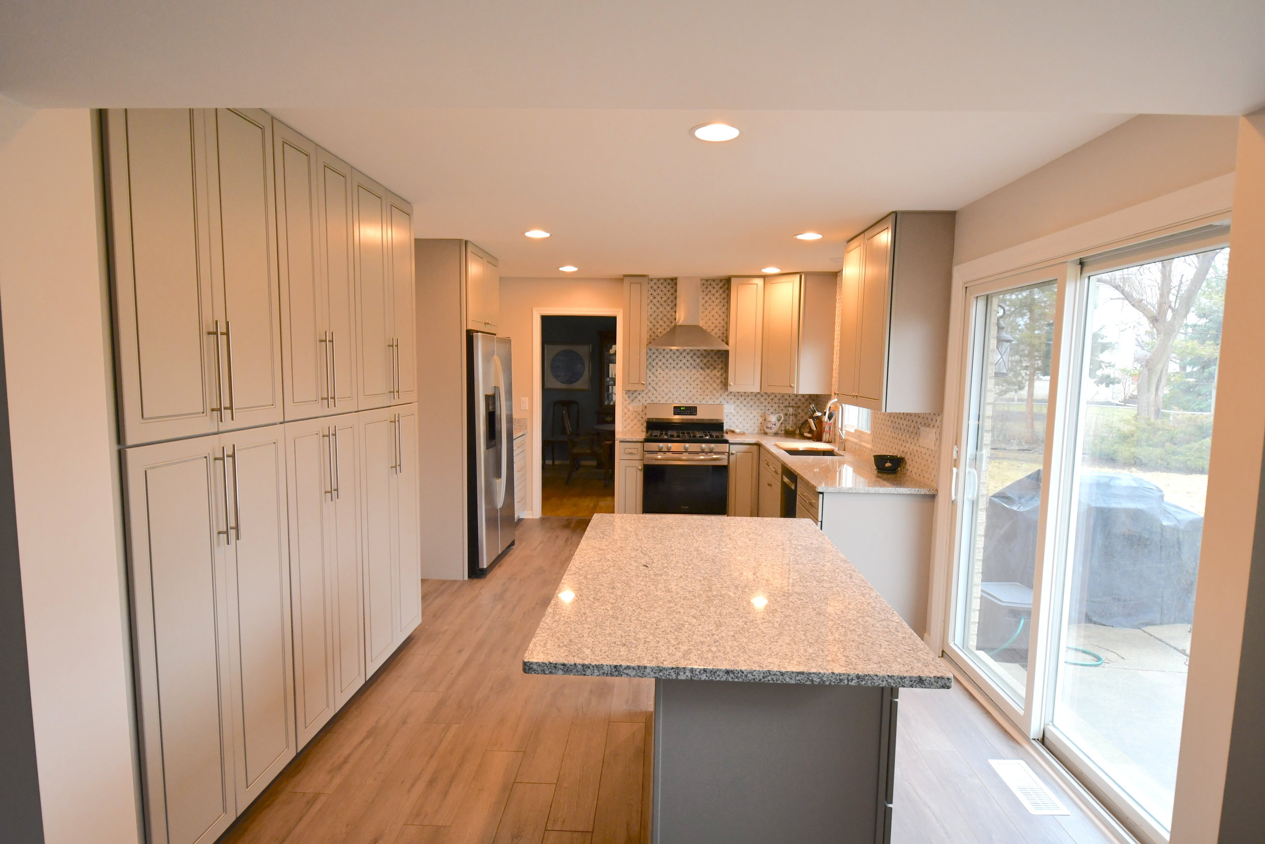 Kitchen Remodel Elmhurst - March 2019 - Kitchen remodel completed by Kure Construction Inc. for an Elmhurst homeowner.