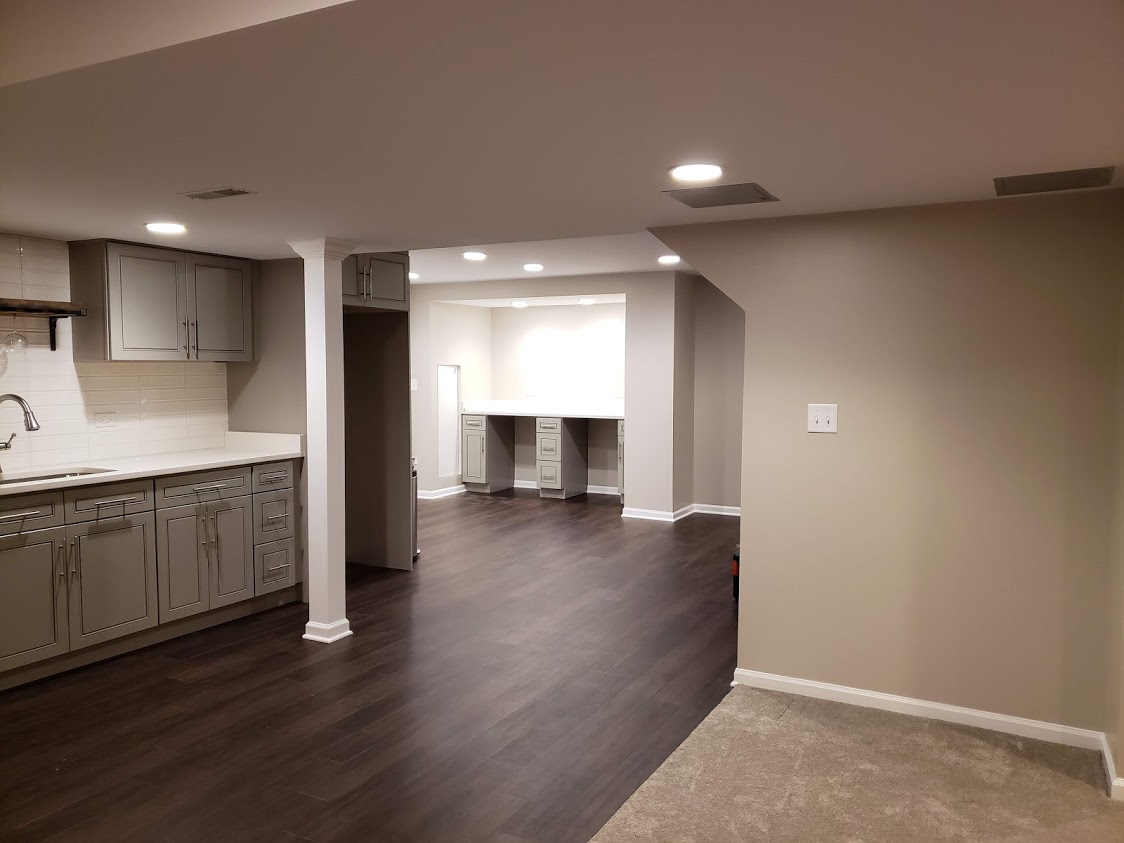 Basement Remodeling Wheaton - Here is a recent project of a Before and After Basement Remodeling project for a local Homeowner in Wheaton, IL. If you're interested in a Basement Remodeling quote, please contact our team today!