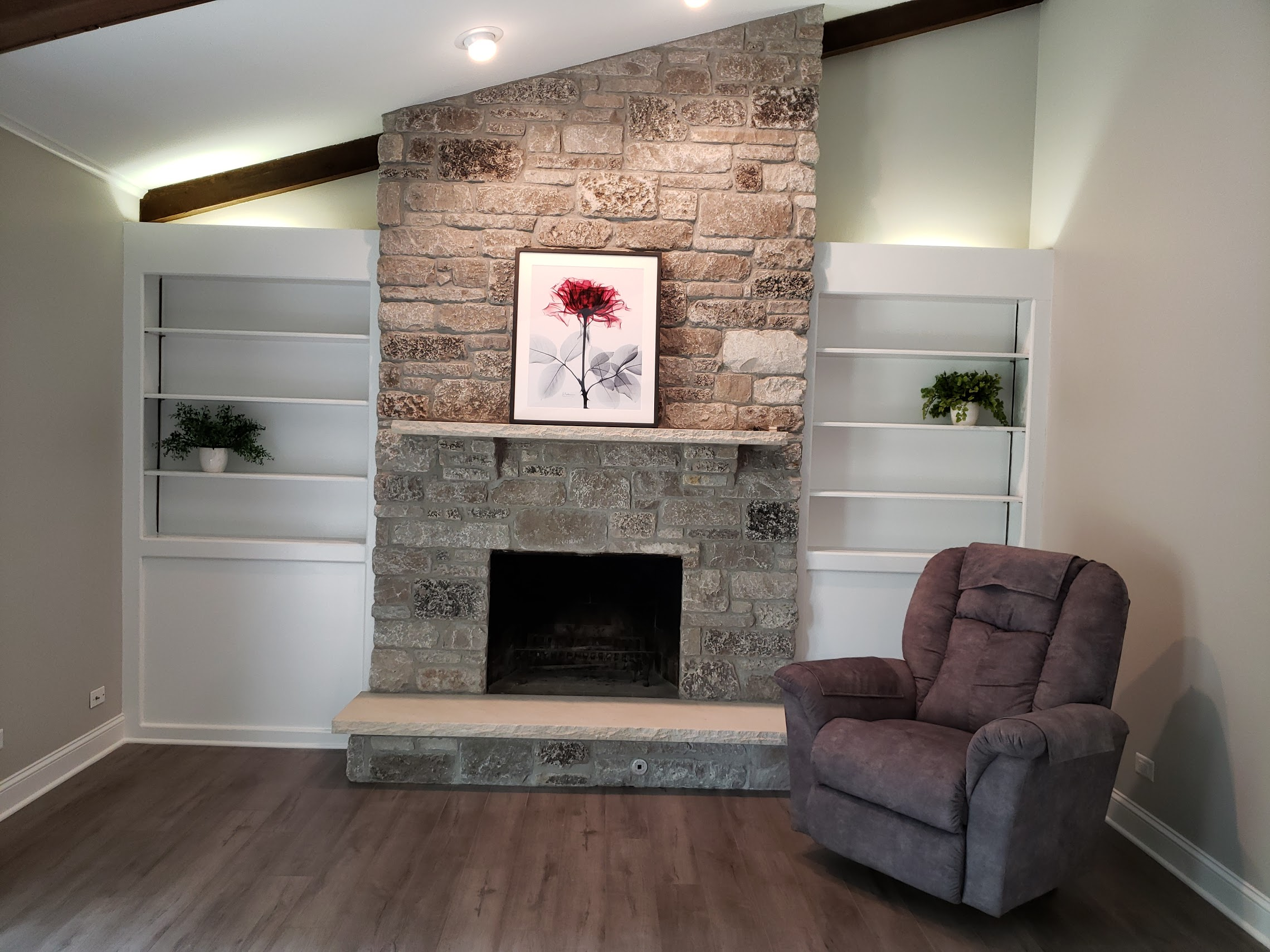 Living Room Remodeling - via Kure Construction