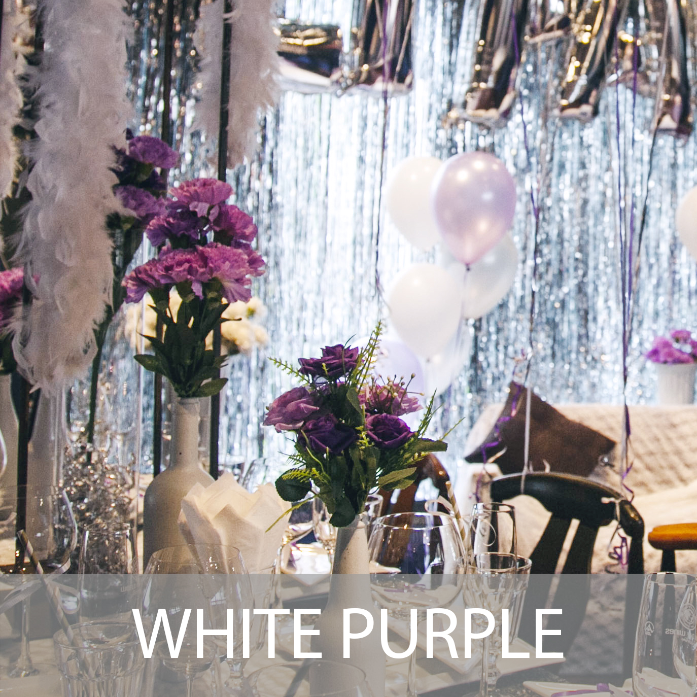 White Purple Theme