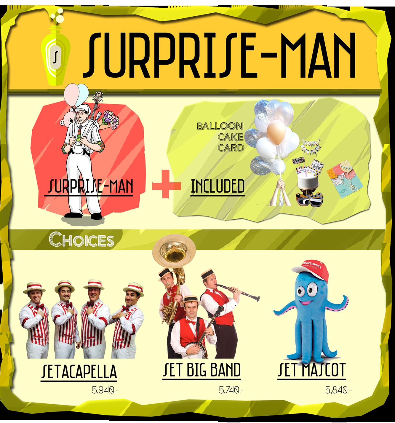 Surprise Man Service