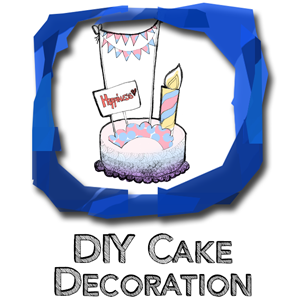 Copy of DIY-cake decoration