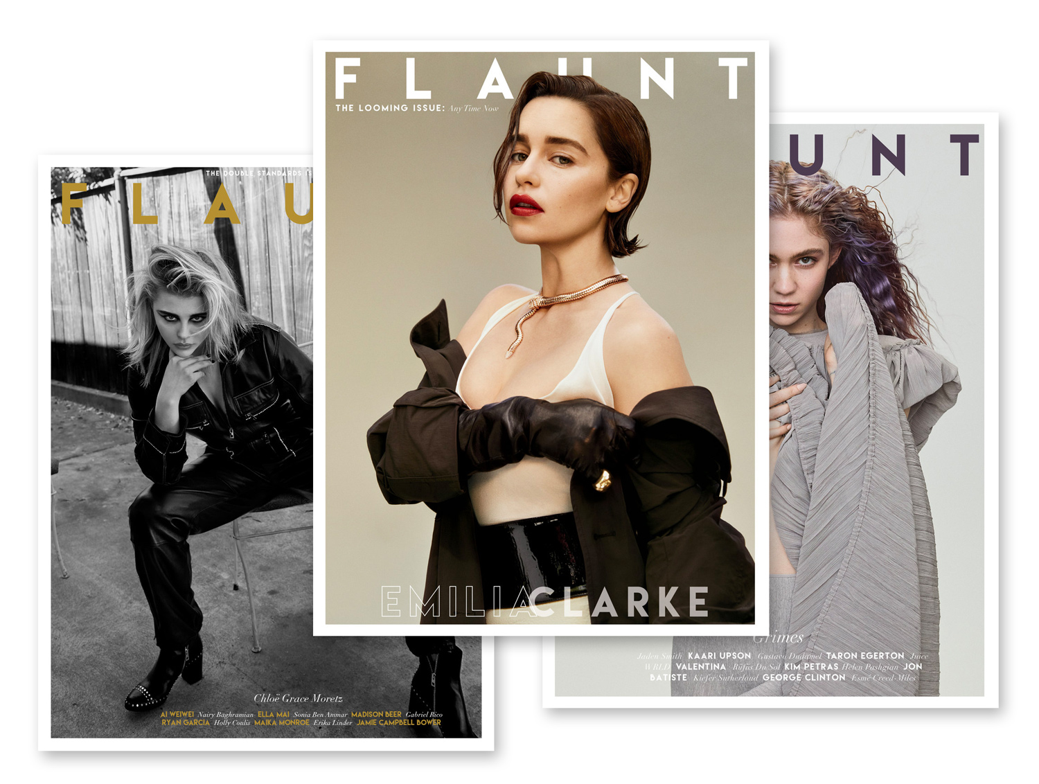 Flaunt Magazine - WebView website →