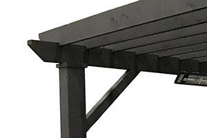 Angled Corner Supports -