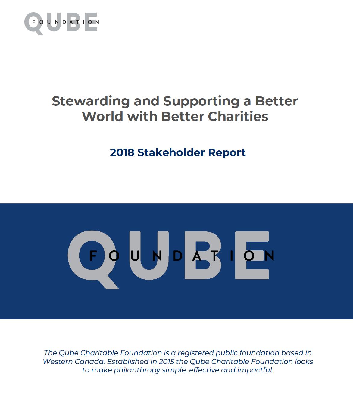 QCF 2018 Report