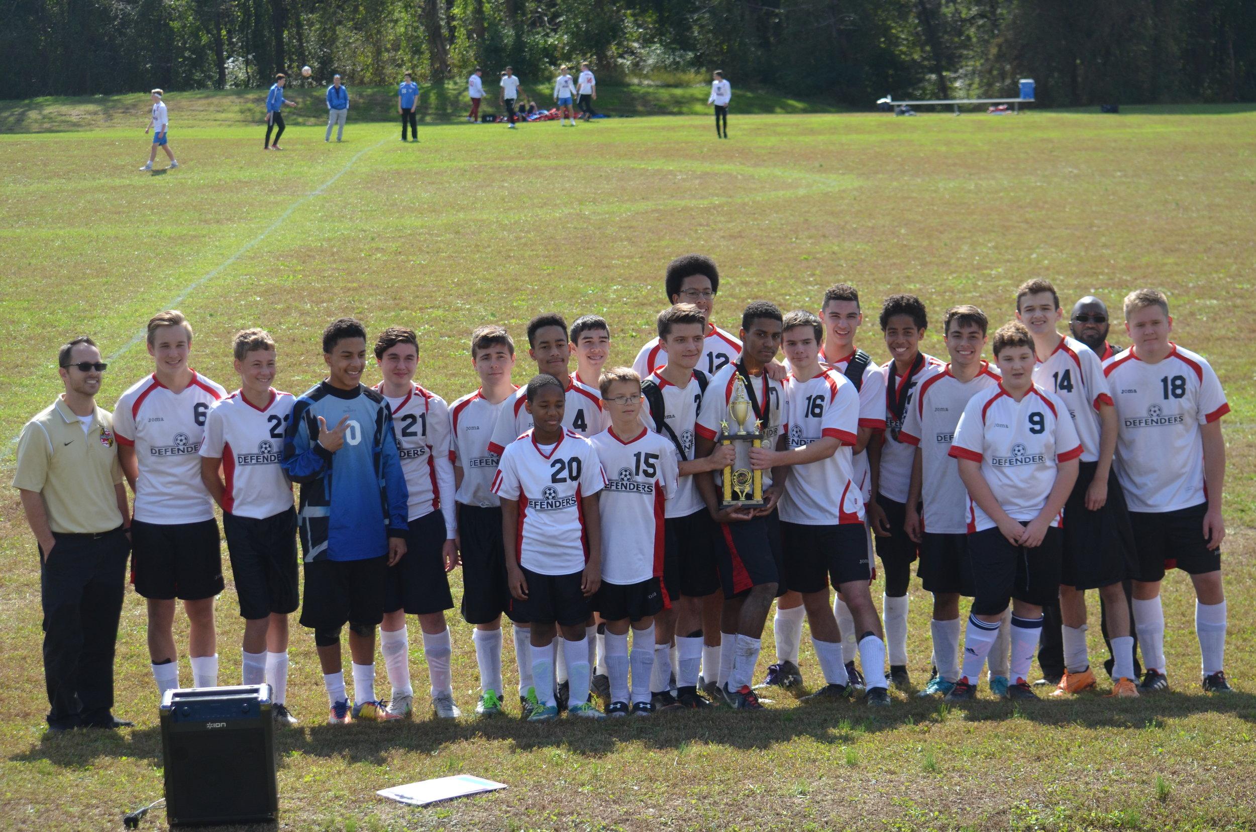 Frederick christian academy Varsity Boys soccer 2018 - 3rd place