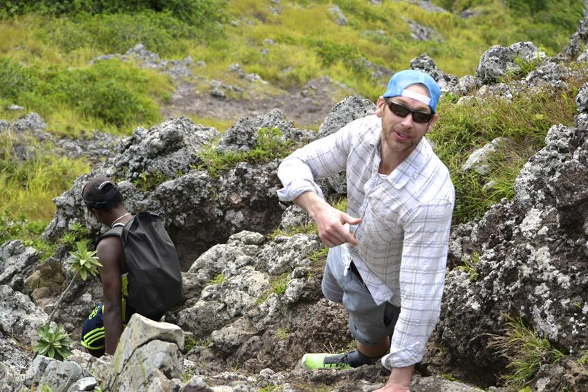 climbing Le Morne Mountain: best hiking trip Mauritius