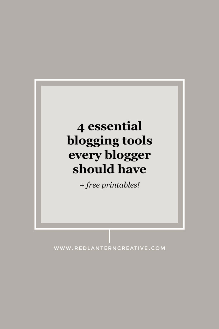 4 Essential Blogging Tools Every Blogger Should Have