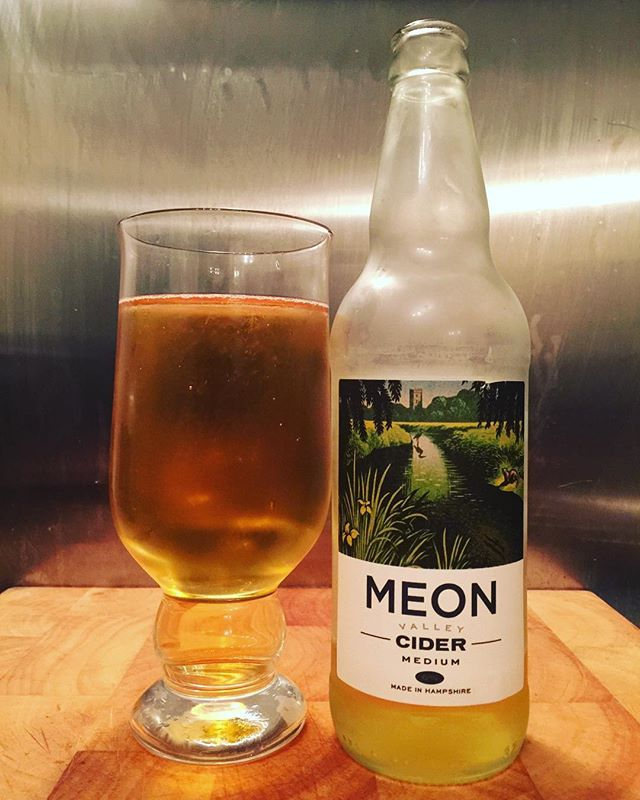 Medium Cider from @meon_valley_cider #cider #ciders #craftcider #craftciders #ciderlover
