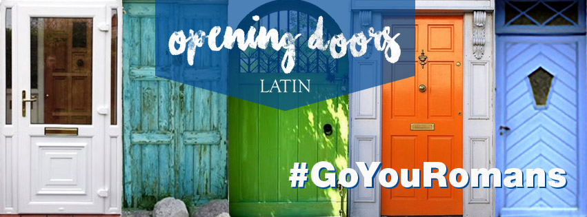 Facebook Cover Photo incorporating the Opening Doors theme.