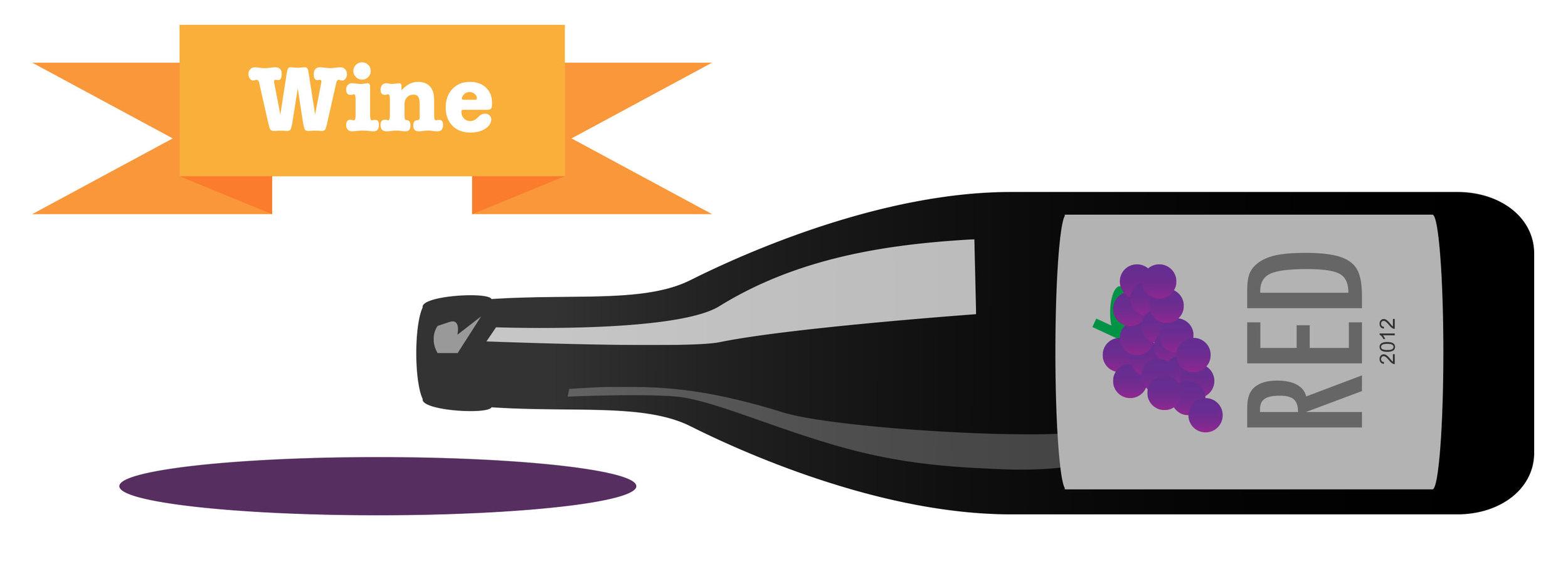 Wine, the preferred alcoholic beverage of American women.