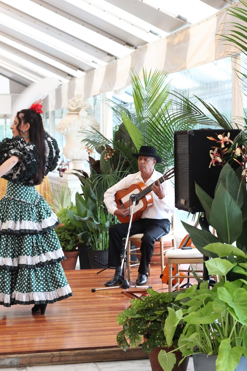 Rosecliff flamenco at Newport Music Festival