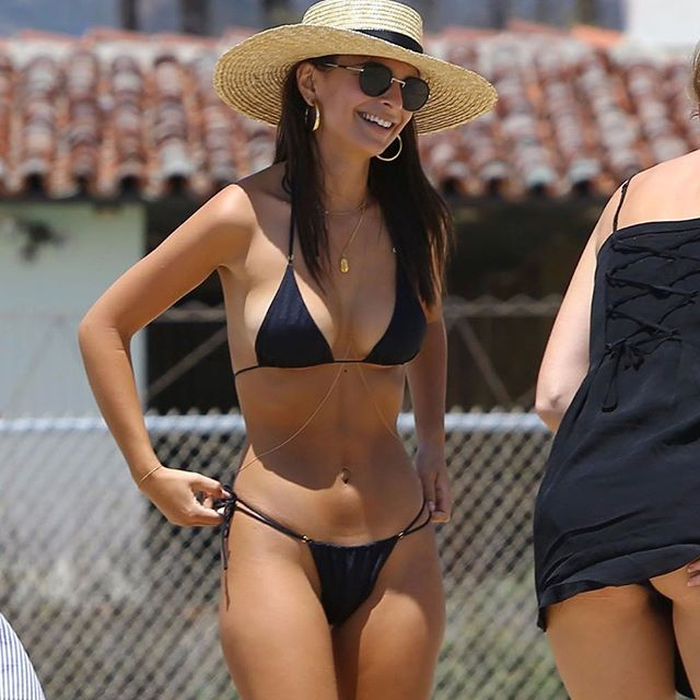 @emrata in her Spencer Wide Brimmed Boater! Online now