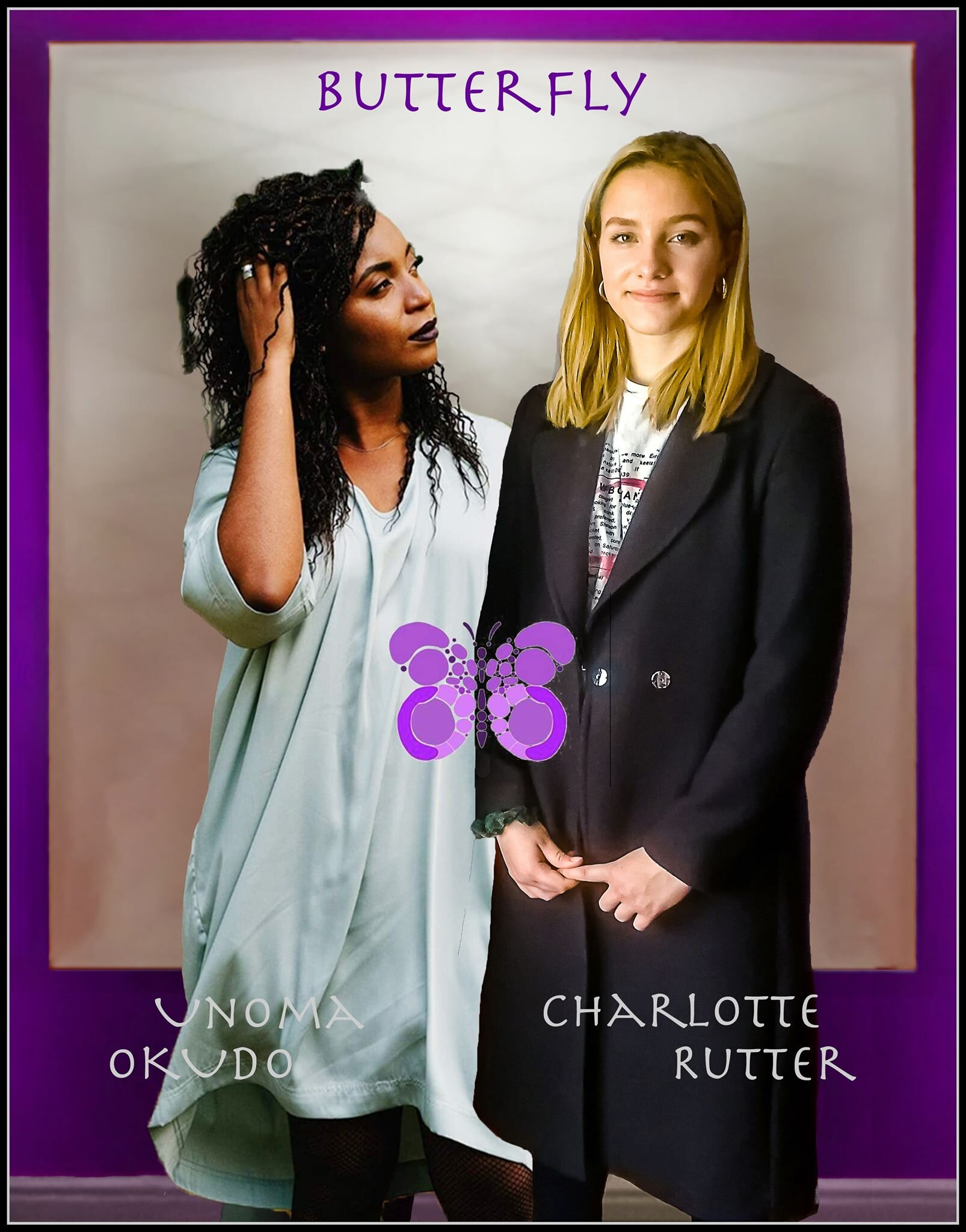 The artists - Charlotte Rutter and Unoma Okudo