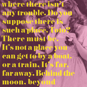 THERE'S NO PLACE LIKE THE MOON BOOKLET