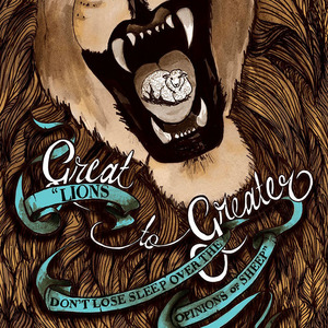 GREAT TO GREATER QUOTE POSTER