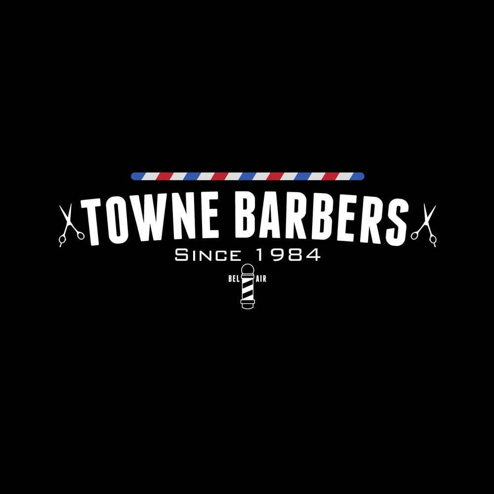 TOWNE BARBERS BRANDING