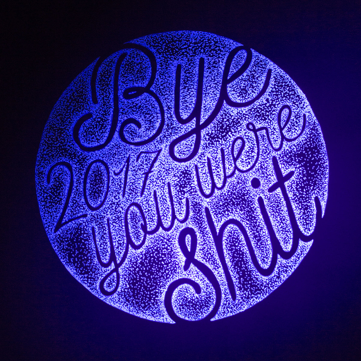 INVISIBLE INK TYPOGRAPHY