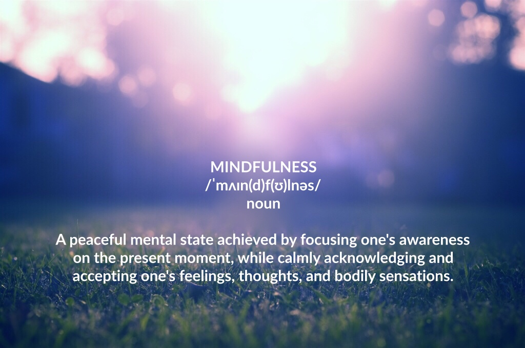 Definition Mindfulness