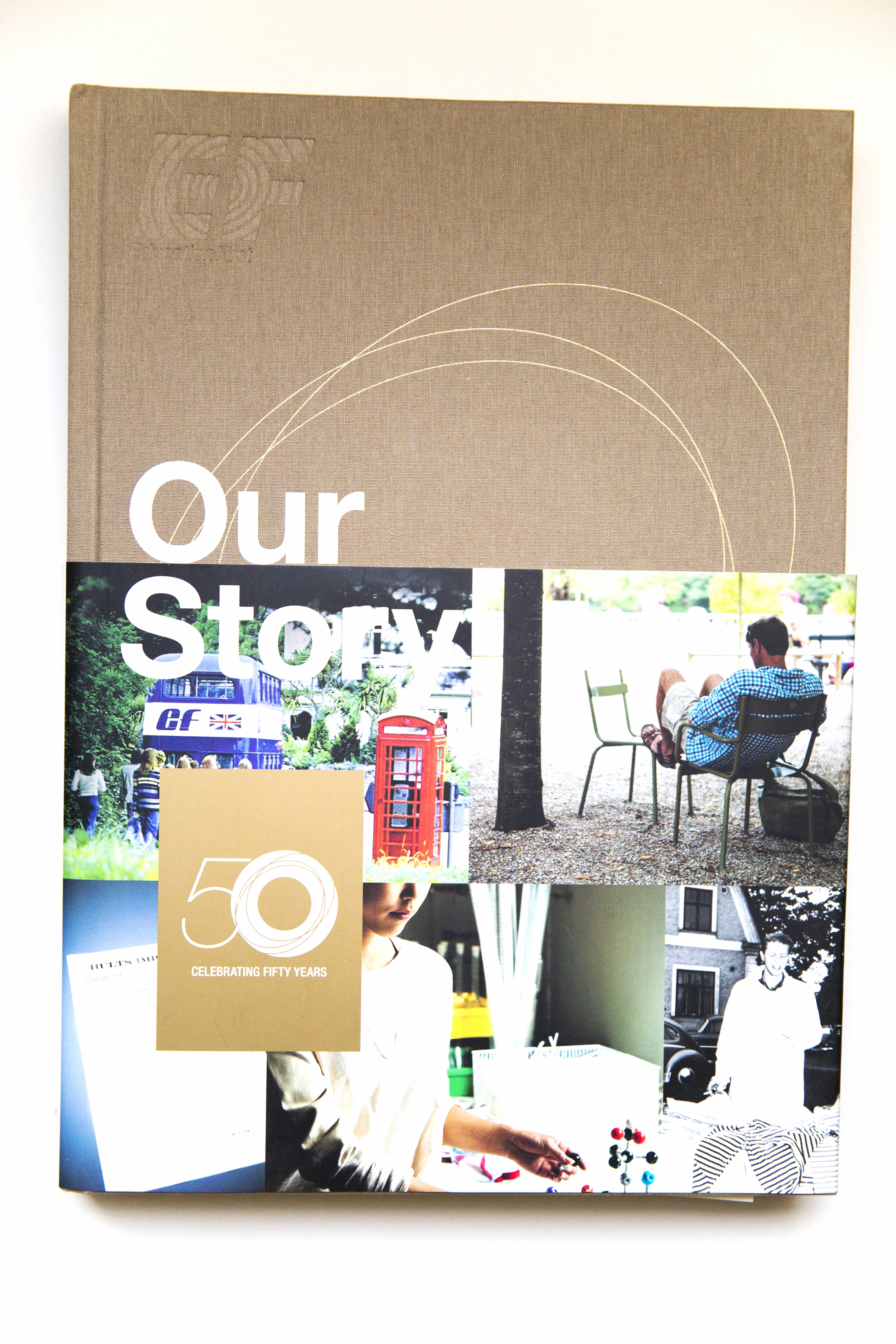 Our Story, the story about EF 50 years