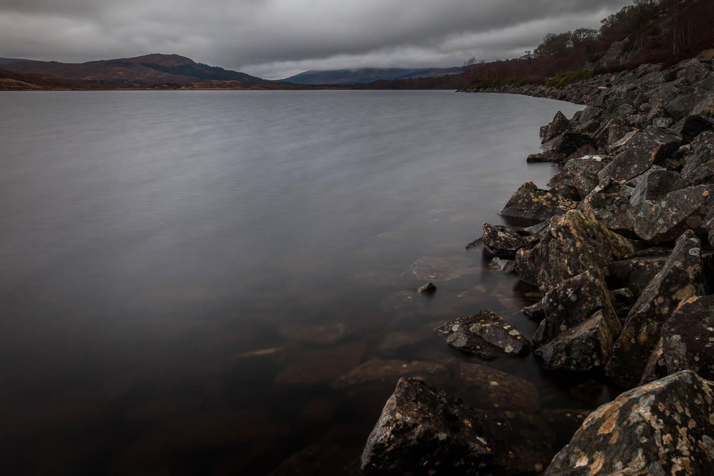 Loch a'Chuilinn on the road to Achnasheen.