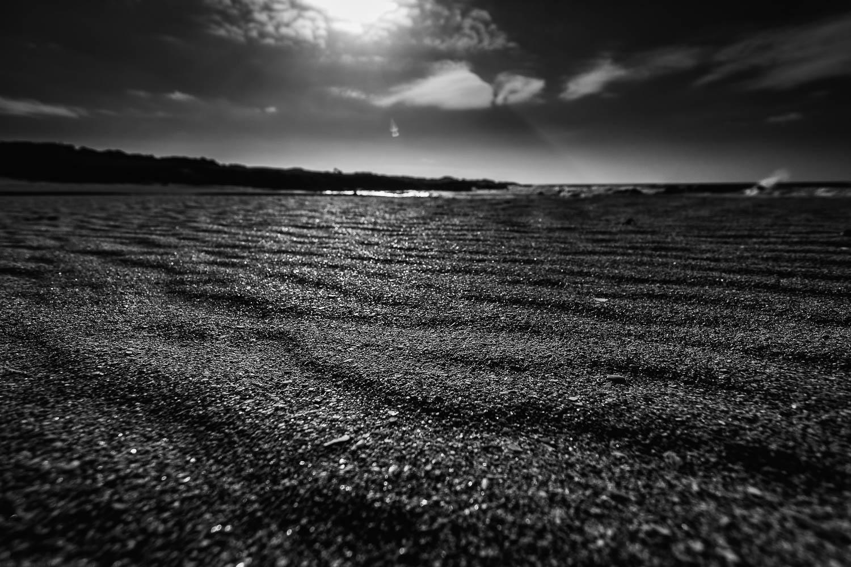Waves in the sand -Tràigh Bail' a-Mhuillinn