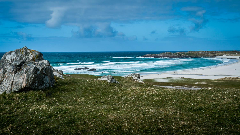 Tràigh Bail' a-Mhuillinn - Overlooking the bay to the north east.