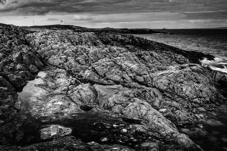 Eilean an Arbhair, Scarinish looking toward the harbour.