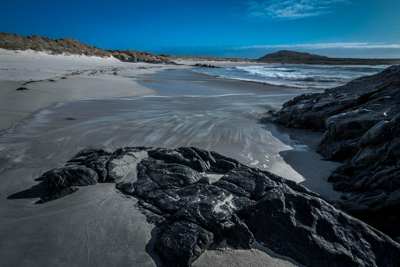 Tràigh Bail' a-Mhuillinn (Balevullin Beach)looking south west toward Beinn Hough.