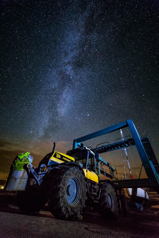The Milky Way over Waterloo, Breakish.