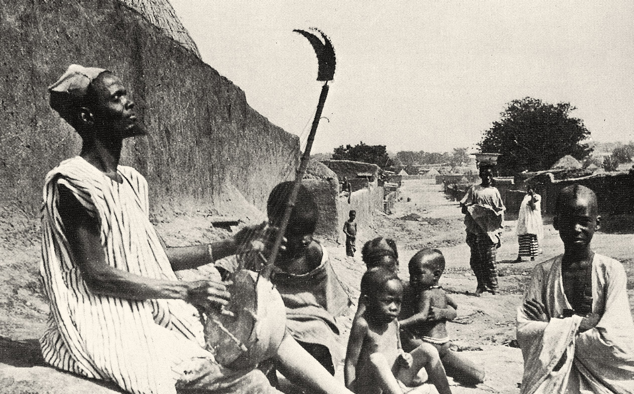 A jeli or griot of West Africa