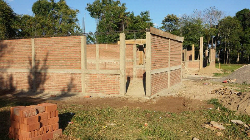Classroom building under construction