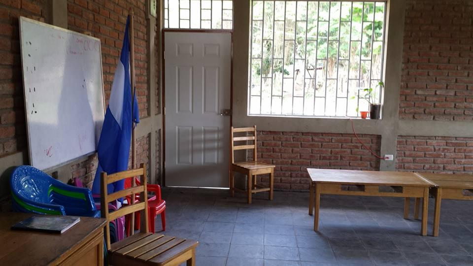 classroom at the new sreejana school building