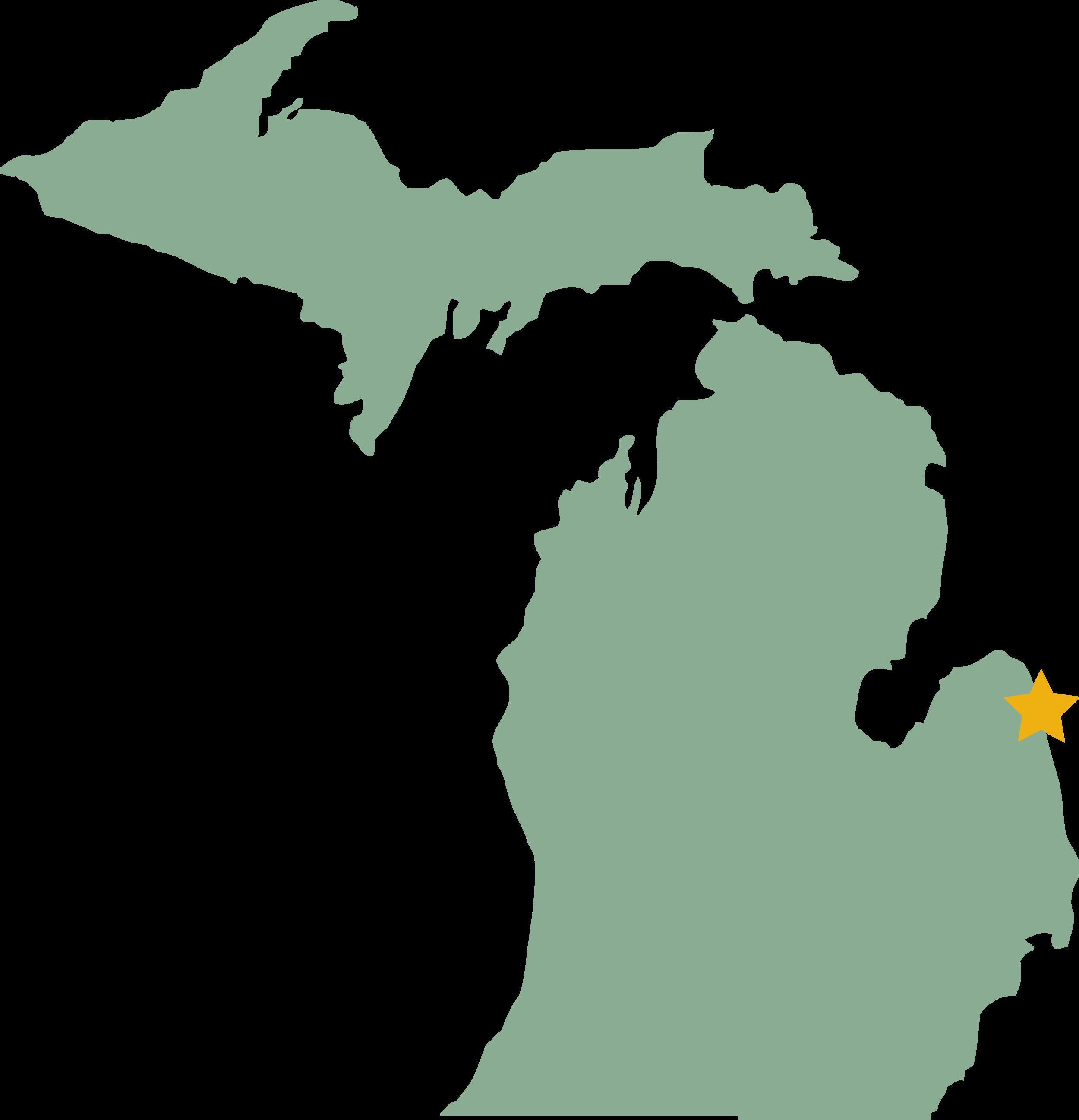 Harbor Beach in Michigan