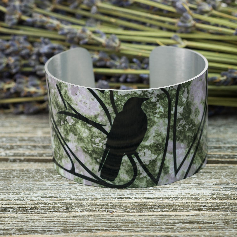Raven Wide Bracelet