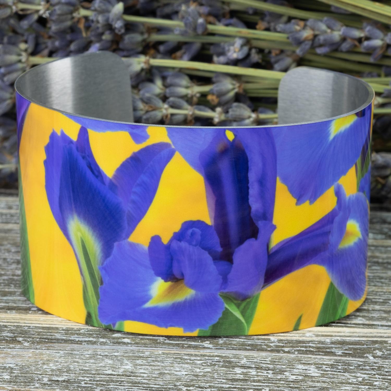 Iris Cuff Bracelet