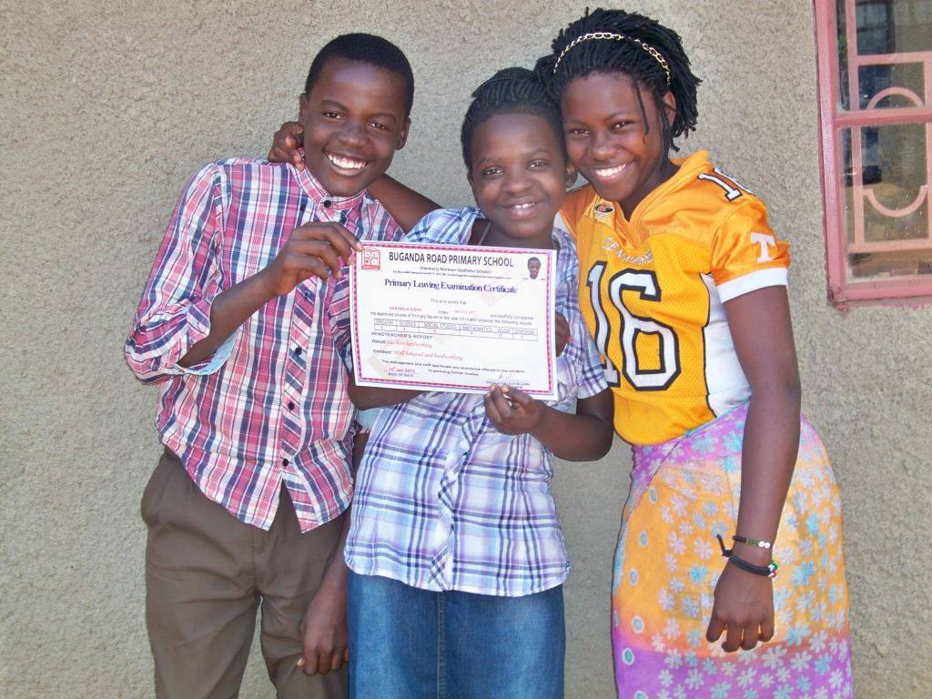 Denis, Aisha and Zuhurah excited about graduating too secondary school after receiving top marks in the Primary leaving exams.