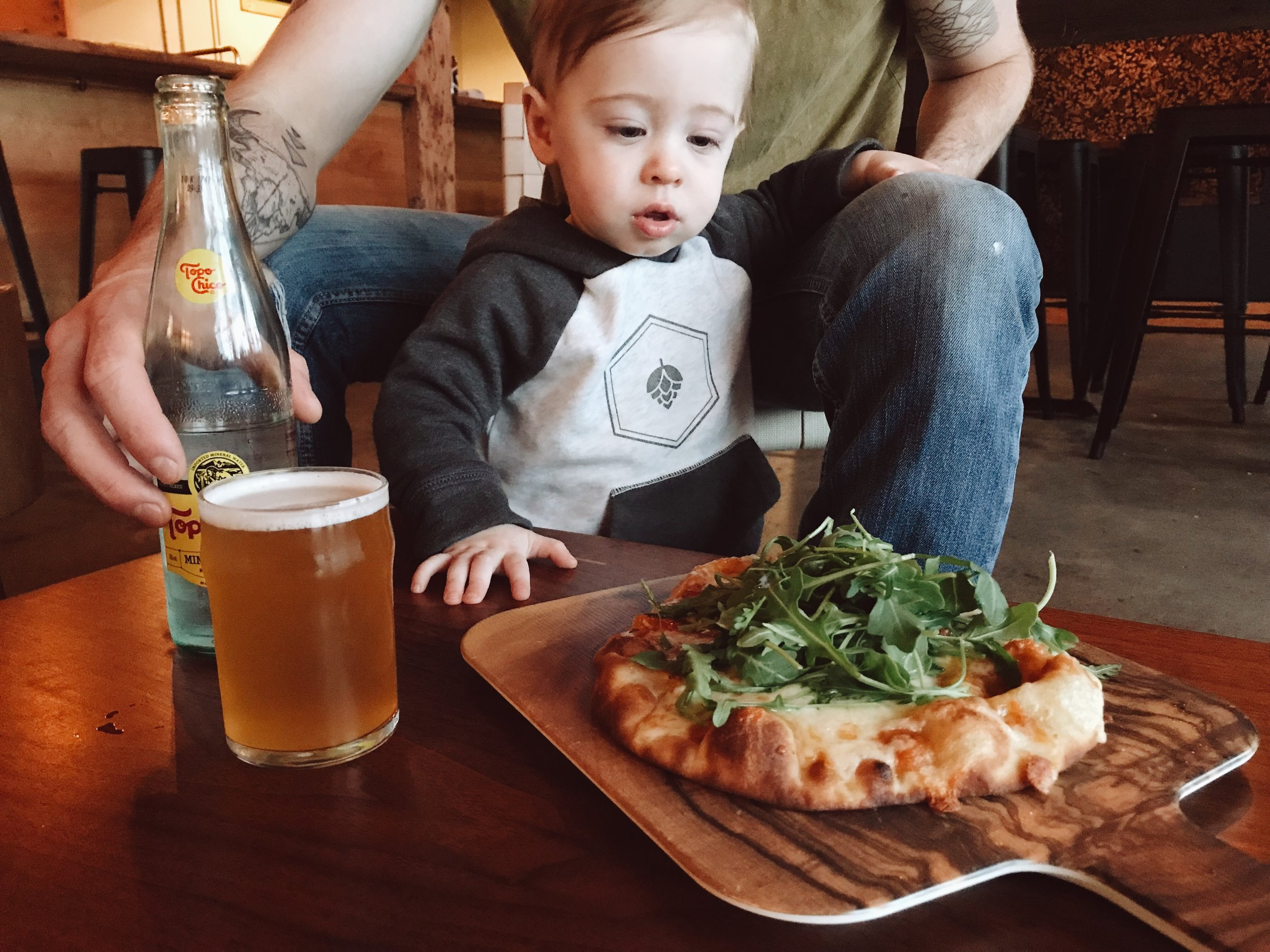 """""""-Well behaved children are welcome here, open to close-""""(One reason I like this place) Photo Courtesy of   Alicia Palaniuk"""