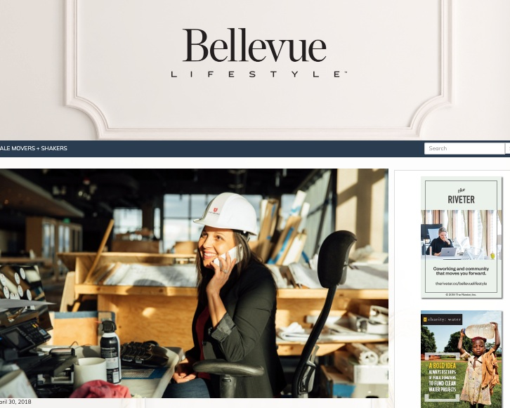 BELLEVUE LIFESTYLE MAGAZINE, APR 2018   MEET SEVEN LOCAL WOMEN IMPACTING THE COMMUNITY   read full article