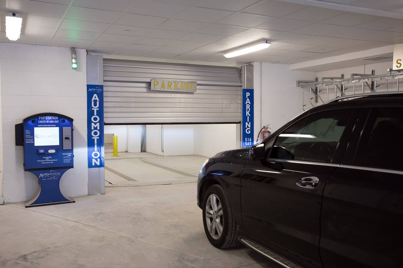 More Apartment Buildings Are Offering the Hi-Tech Perk of Automated Parking