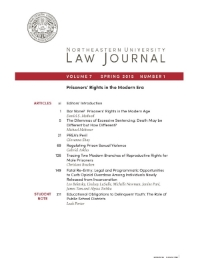 Volume 7, Issue 1 Spring 2015