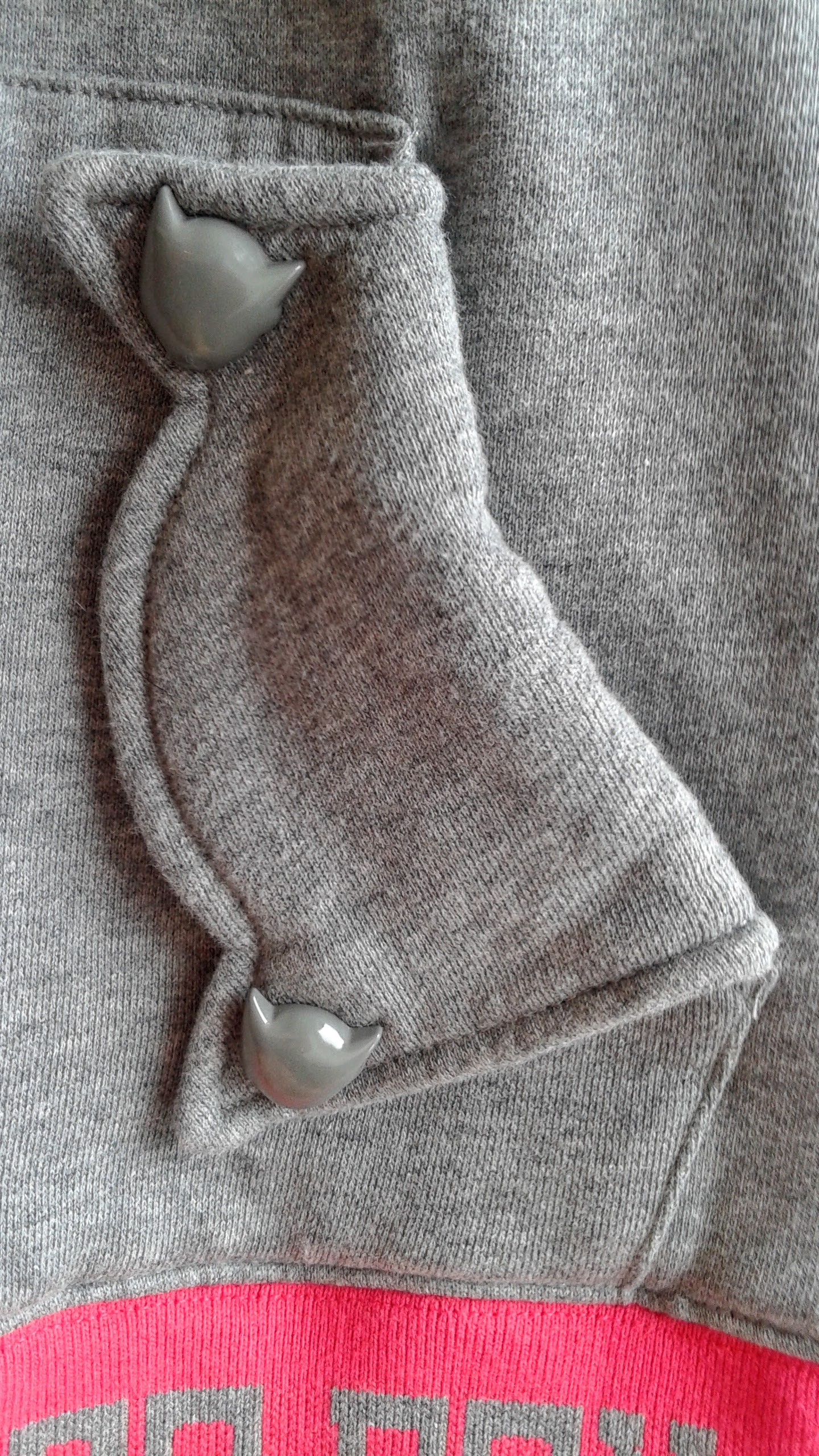 ...and Astro-Boy head detailing on the pockets!