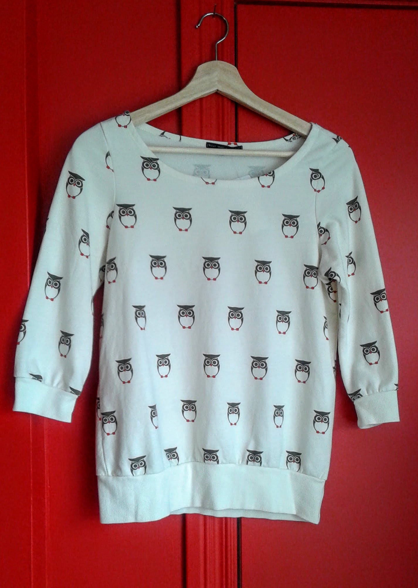 Truly Madly Deeply shirt; size S; $24