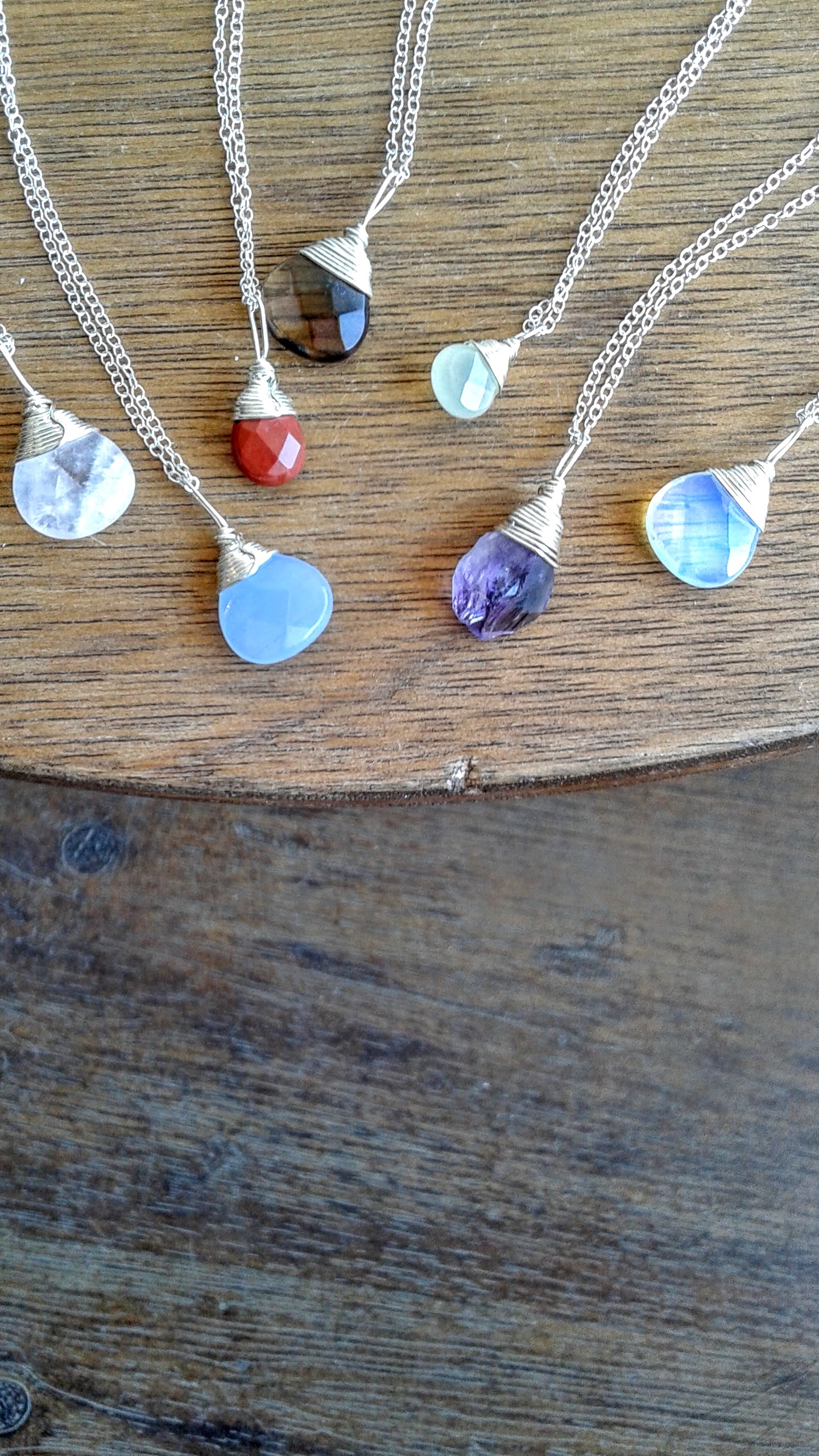 Darling Gems For You necklaces, $30 each