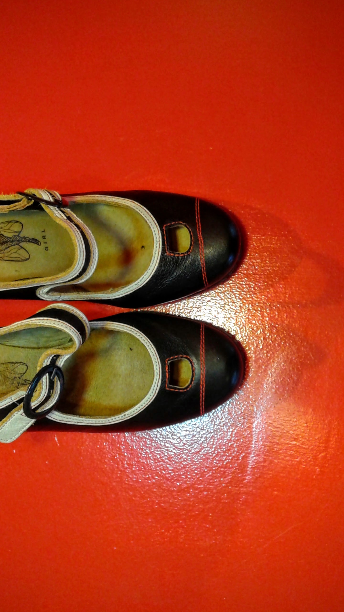 Fly London shoes; S9, $40