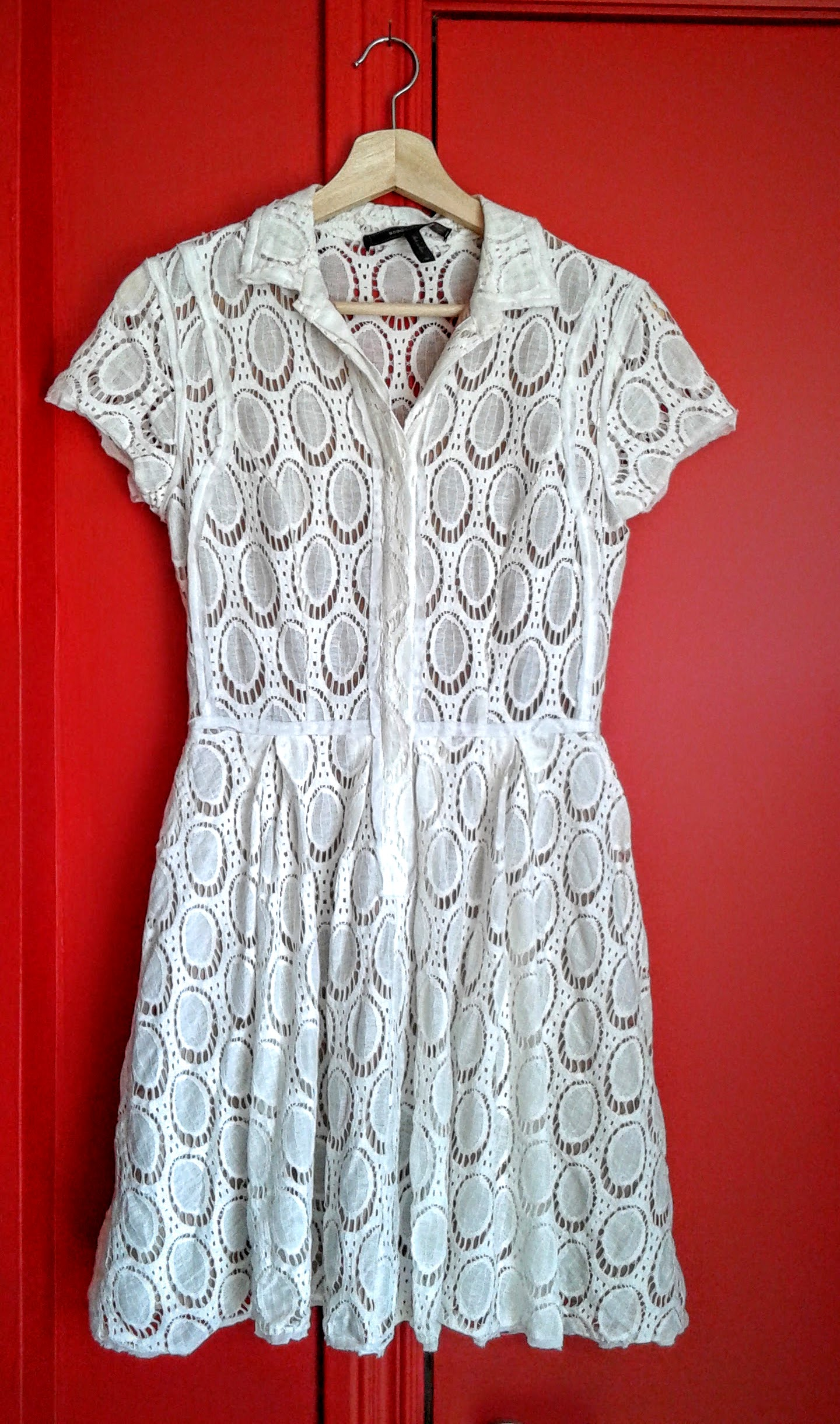 BCBG dress; Size S, $42