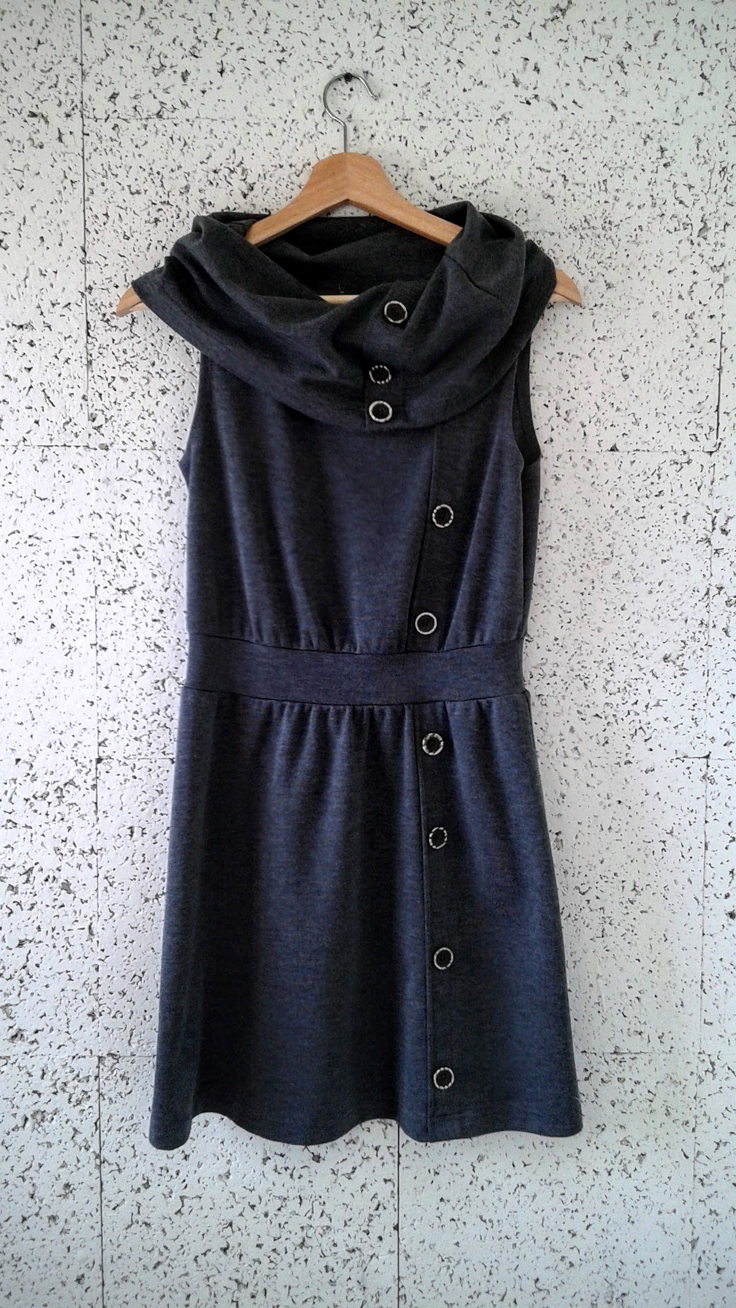 Grey dress; Size S, $26