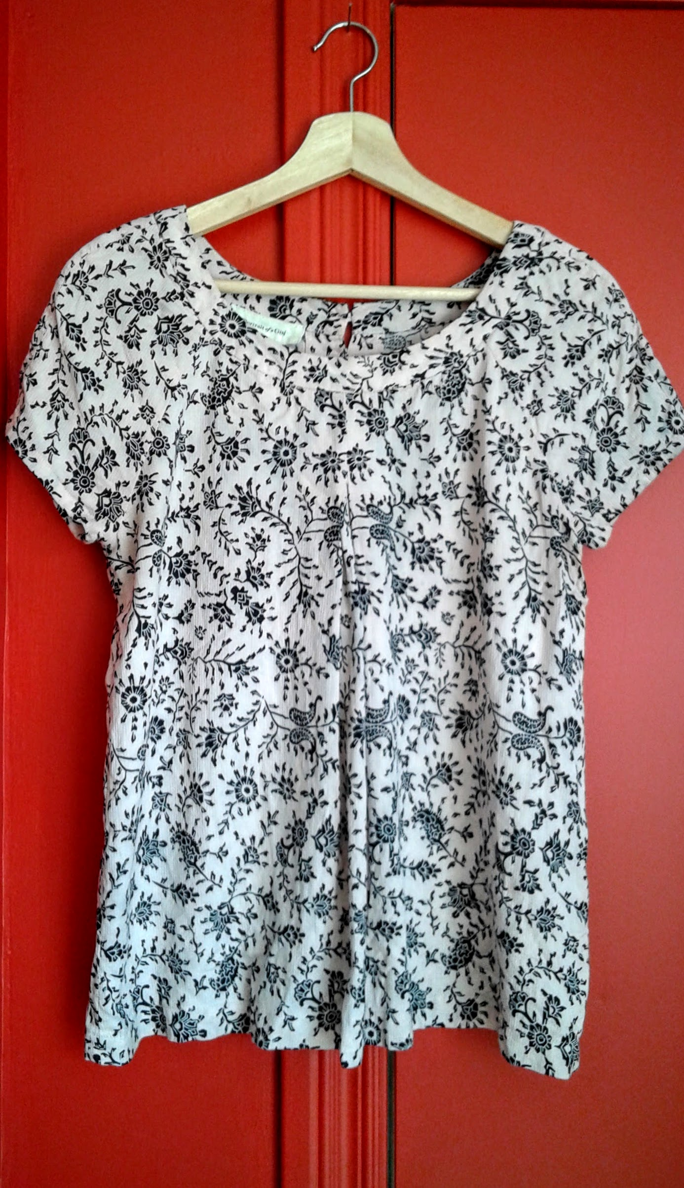 Portrait of a Girl top; Size M, $22