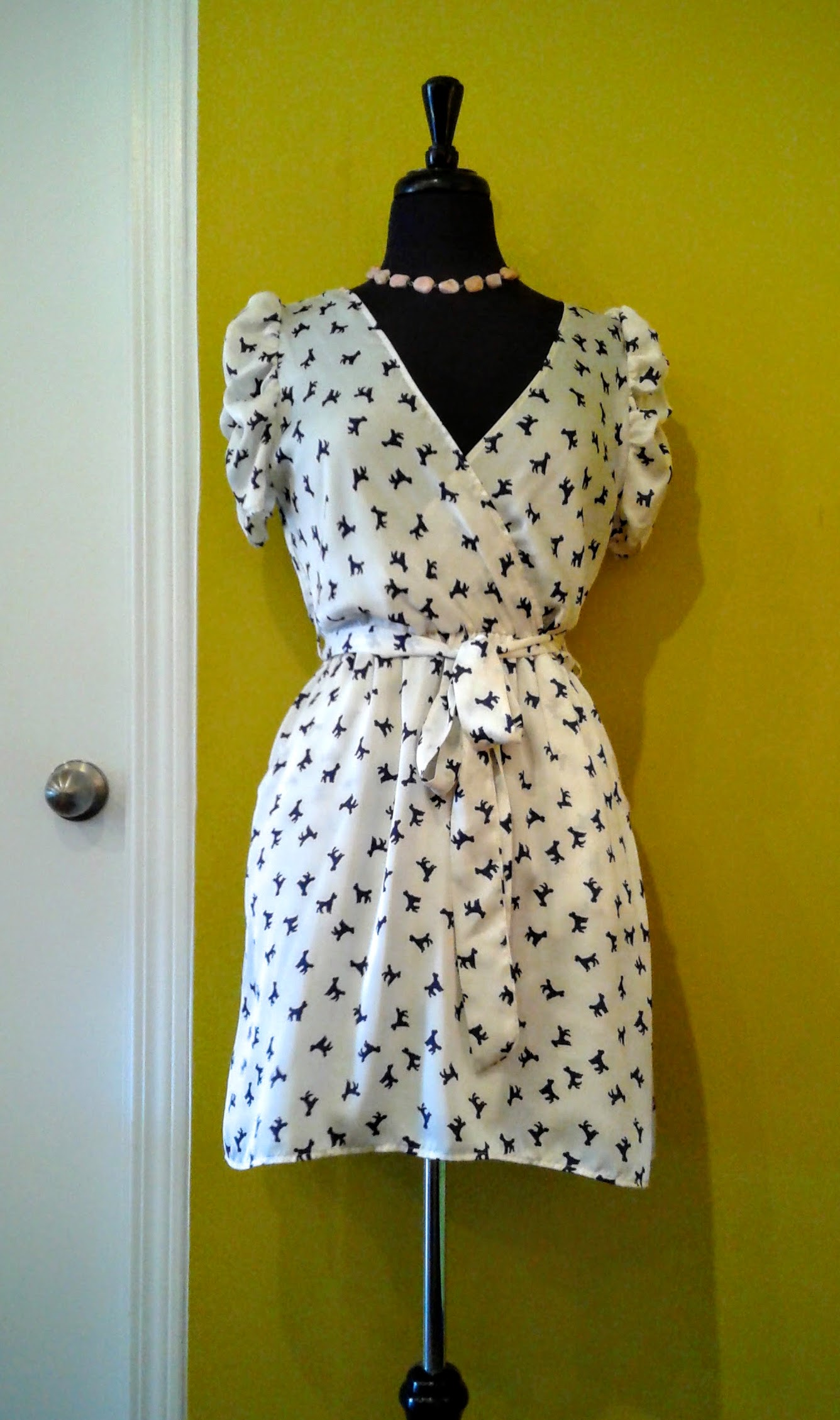 Poodle dress; Size M, $30