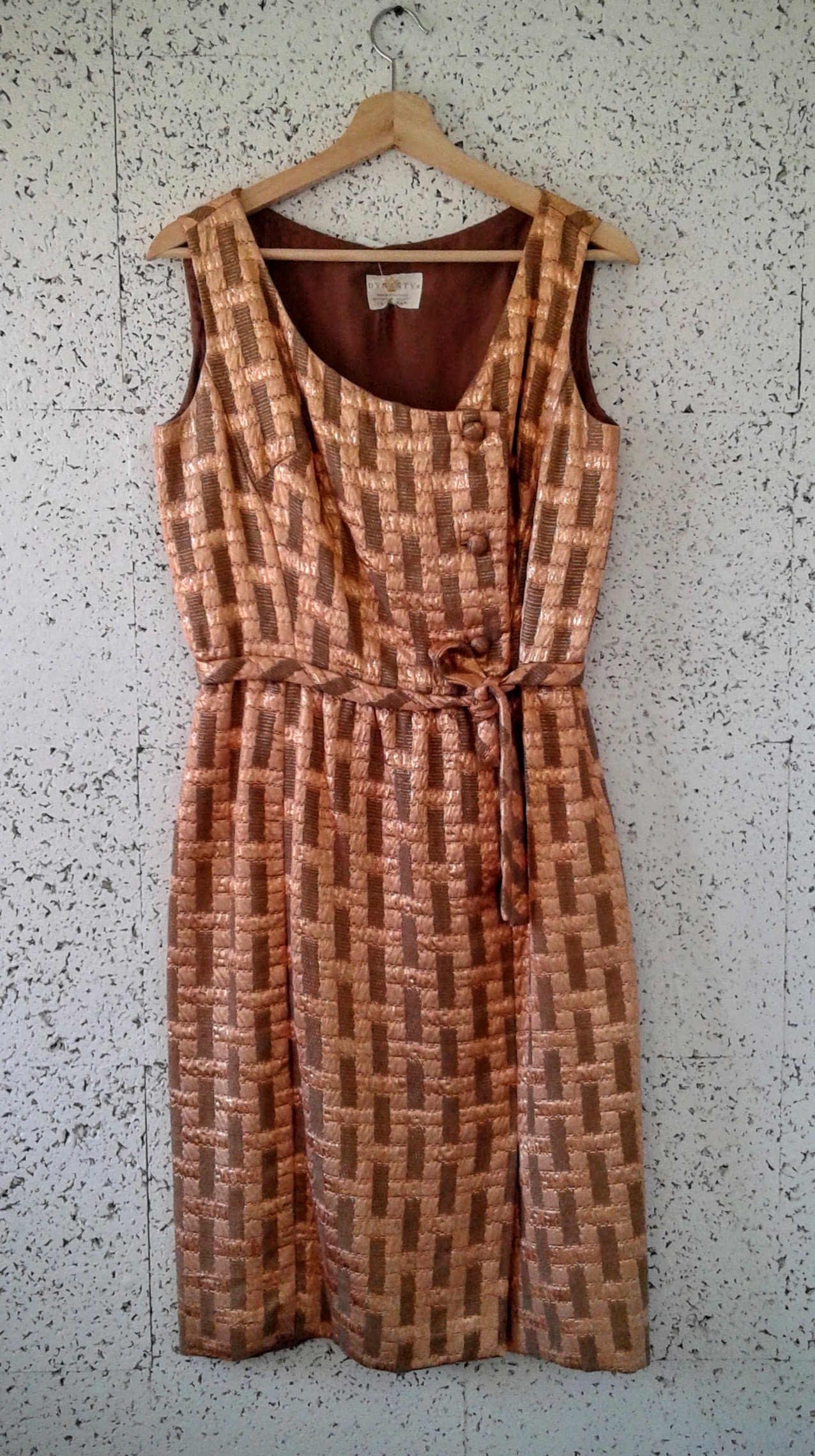 Dynasty vintage dress; Size M, $38